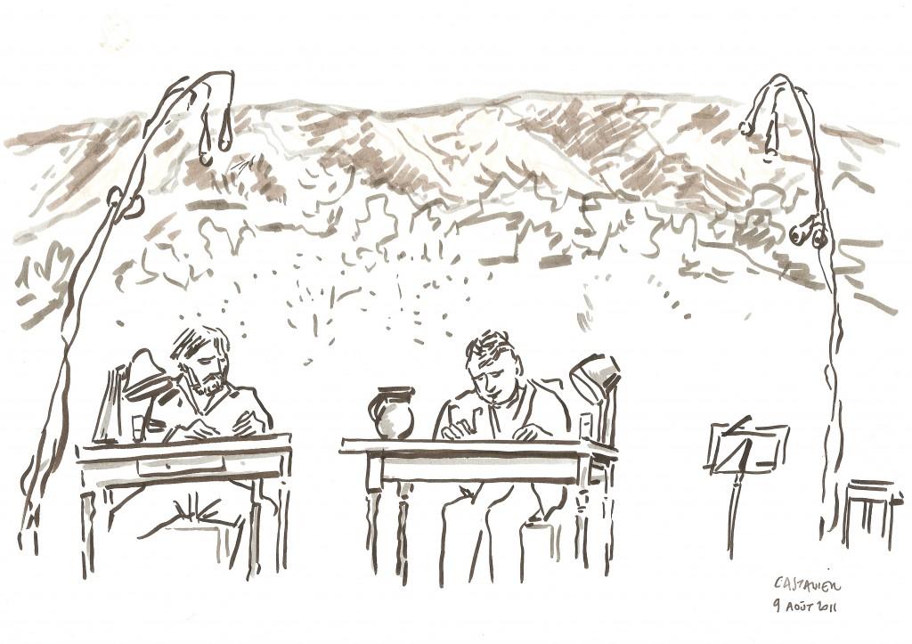 Dans l'arène de Picasso vu par Thierry